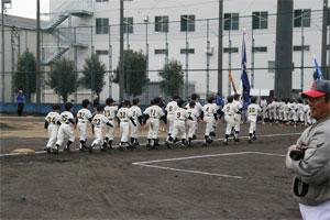 学童軟式野球大会が始まりました