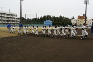2015年学童軟式野球大会開会式が開催されました