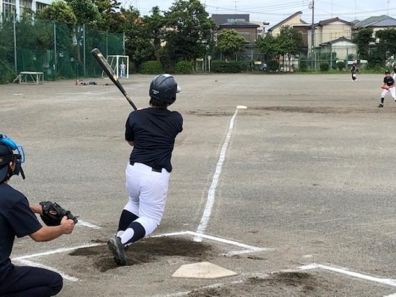 実践に向け練習中(7月19日)